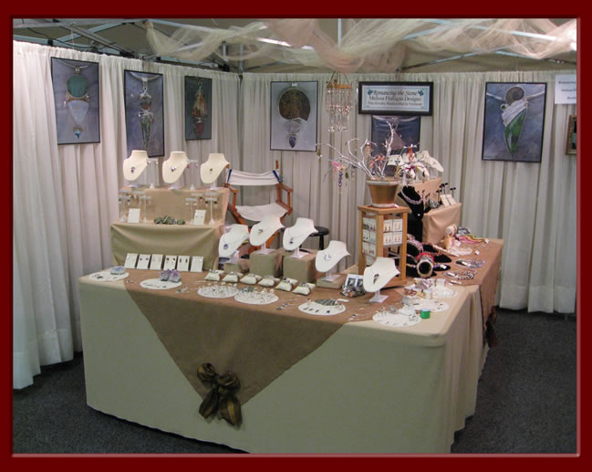 Jewelry Exhibition Booth Design : Romancing the stone s vermont jewelry craft show schedule